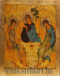 Rublev icon, Holy Trinity, Dreifaltigkeit