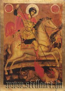 Orthodox St Georg icon