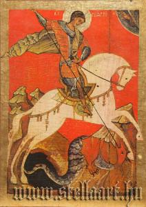 St George icon, Hl.Georg Ikone