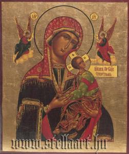 eredetileg bizánci jellegű csodatevő ikon
