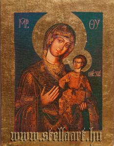 Isten anyja gyermekével, Szentendre, Hungary