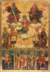 MARY, Queen of the Heavens icon