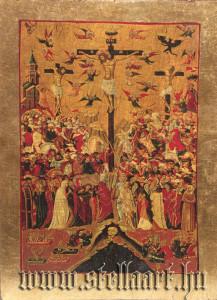 Golgota, Crucifixion, Kreuzigungsgruppe