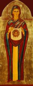 temperával festett ikon