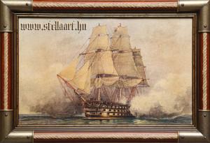 Nelson admirális vezérhajója ója