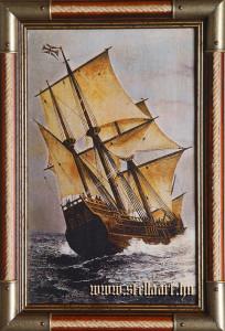 Az első telepesek hajója, a Mayflower
